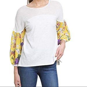 Umgee floral sleeve top